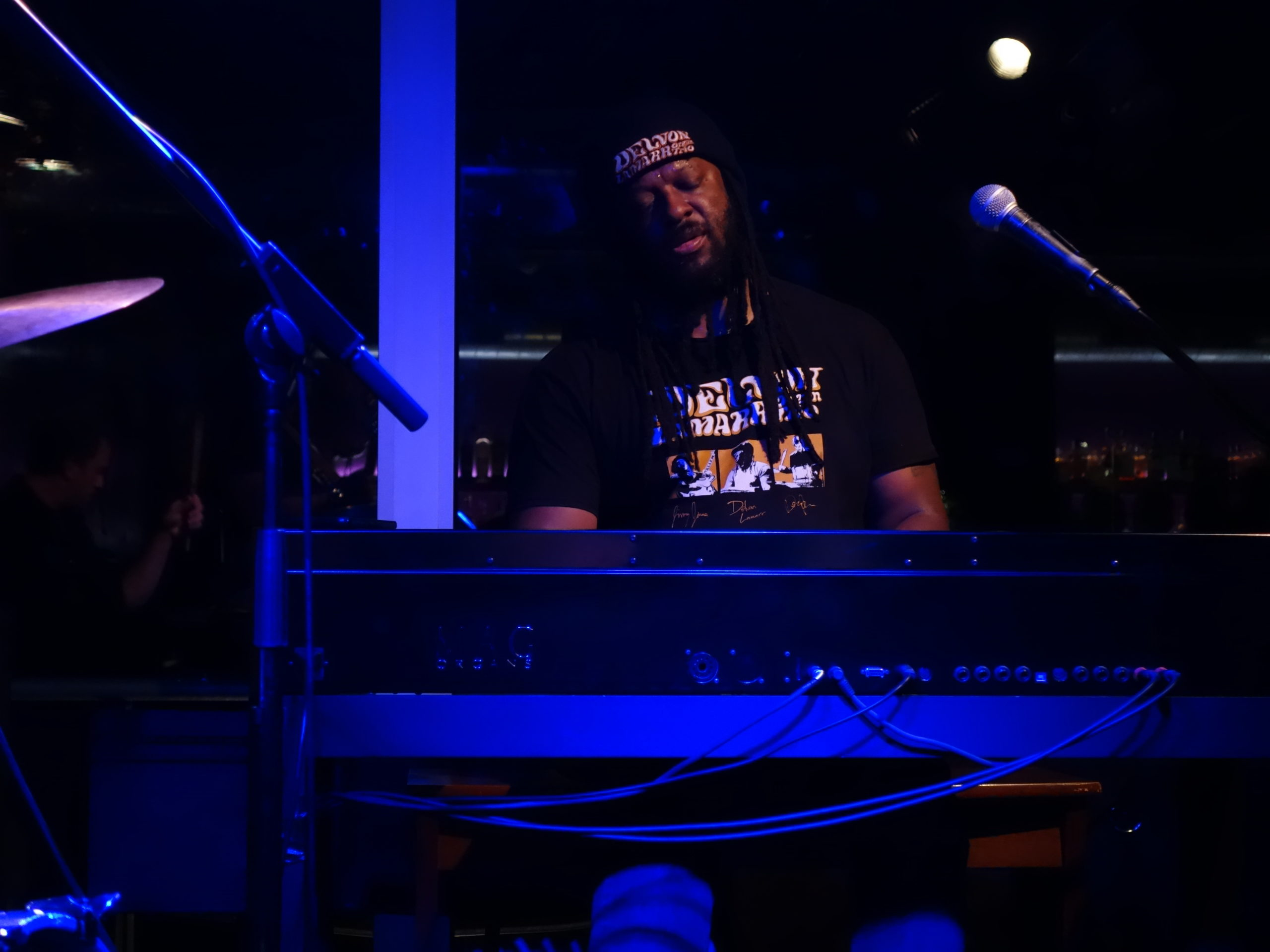 Delvon Lamarr with Mag P-2